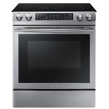 36 Inch Downdraft Electric Cooktop Shop Slide In Electric Ranges At Lowes Com
