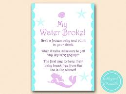 my water baby shower my water frozen baby cube mermaid baby shower
