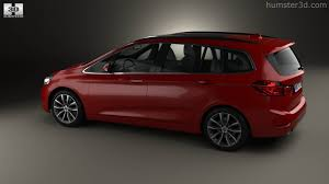 bmw minivan 360 view of bmw 2 series gran tourer f46 sport line 2015 3d