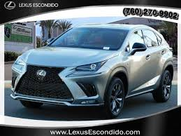 new nx 300 vehicles for sale in escondido lexus escondido