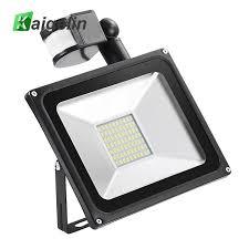 kaigelin sensor led flood light 50w 220v 70 leds smd 5730 infrared