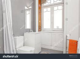 bright bathroom interior with clean clean fresh bright bathroom stock photo 581360728