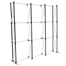 Ray Booth Designer Amazon Com 8 Ft Black Straight Pop Up Display Trade Show Booth