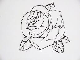 simple rose tattoo tattoo collections