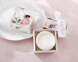 soap wedding favors wedding favor garden soap with floral box the blush