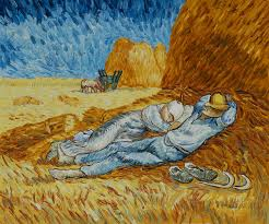 noon rest from work by vincent van gogh pb 043 139 20 color noon rest from work by vincent van gogh