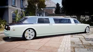 limousine bugatti rolls royce phantom sapphire limousine disco for gta 4