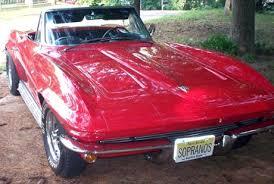 1964 stingray corvette convertible corvette stingray convertible