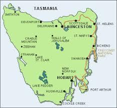 map of tasmania australia cycling east coast tasmania australia one is a wanderer