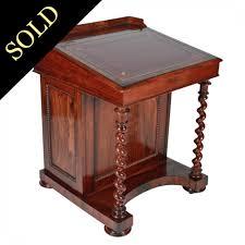 Victorian Secretary Desk by Antique Davenport Desk Antique Furniture