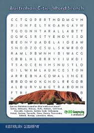 australia geography worksheets
