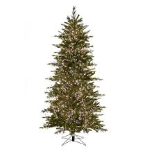 artifical christmas trees carolina fir led cluster light pre lit artificial christmas tree