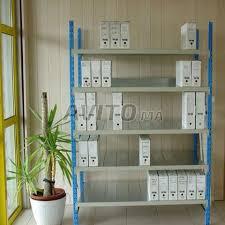 rayonnage bureau rayonnage bureau métal à vendre à dans matériels professionnels