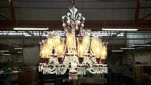 odeon crystal fringe 3 tier chandelier chrome finish