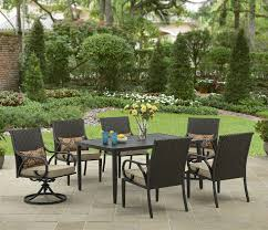 Wood Patio Dining Table by Patio Amusing Walmart Outdoor Dining Sets Walmart Outdoor Dining