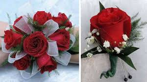 Corsage And Boutonniere Prices Rose Boutonniere And Corsage Combo Kremp Com