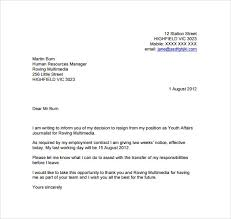 two week notice email sample of letter of resignation two weeks