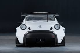 toyota s fr concept dons racing gear for tokyo auto salon