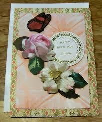 flower style handmade birthday cards trendy mods com