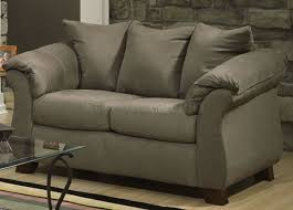 Microfiber Sofa And Loveseat Furniture Contemporary Design And Outstanding Comfort With Double
