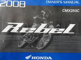 2008 honda rebel cmx250 owners manual cmx 250 c honda amazon com