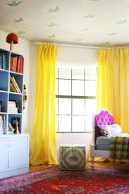 Yellow Curtains For Bedroom Curtains For Playroom Ideas Mellanie Design