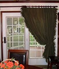 sliding glass doors curtains double curtain rod over sliding glass door crafters home