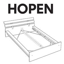 Ikea Hopen Bed Frame Ikea Hopen Bed Frame Replacement Parts Furnitureparts