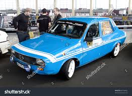 renault 4 tuning bucharest romania march 13 car exhibition stock photo 66199402