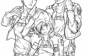 attack on titan coloring pages just colorings