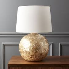 Upright Table Lamps Modern Table Lamps Cb2