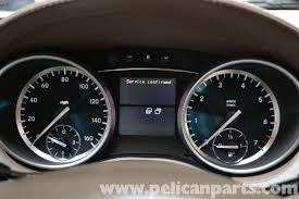 mercedes benz x164 maintenance reminder reset 2007 2014 gl350
