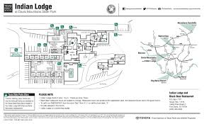 Unt Parking Map Indian Lodge At Davis Mountains State Park The Portal To Texas