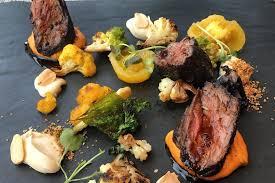 photo trump tower steak dish roasted internet