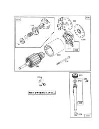 briggs u0026 stratton briggs and stratton engine parts model 289707