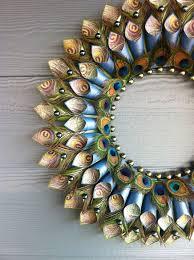terrific peacock feather decorations home a decor design curtain