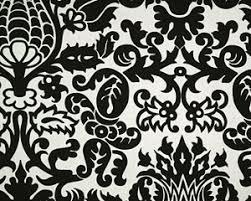 Black And White Damask Curtain Fine Damask Curtains Everythingdamask