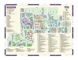 tcu parking map tcu cus map my