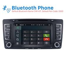 hd 1024 600 android 6 0 2009 2013 skoda octavia radio upgrade with