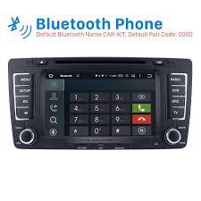 hd 1024 600 android 6 0 2009 2013 skoda octavia radio upgrade with