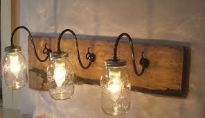 Rustic Bathroom Sconces - fossil machine 3 hand date leather watch wall light fixtures