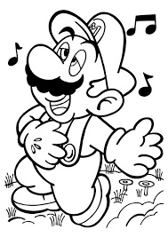 17 coloring pages mario bros images drawings