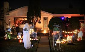 How To Decorate Your Home For Christmas Inside Halloween House Decoration Ftr Jpg