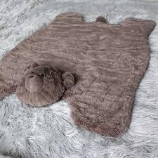 tapis ourson chambre b haute qualité enfant grimper pad mignon doux en peluche animaux bébé
