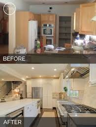 kitchen remodel ideas before and after opening up a kitchen dining area 2 wall removal added an island
