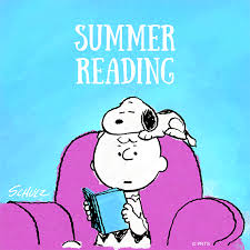 snoopy reading summer