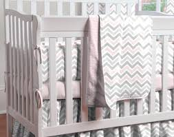 cribs pink and gray chevron portable crib bedding amazing mini