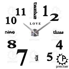 Wholesalers For Home Decor by Wholesale Love English Letters Arabic Digital Wall Clock Home