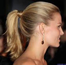 tight ponytail hairstyle how to do a high ponytail long