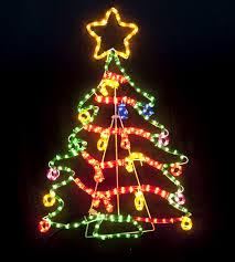 tree motif rope light